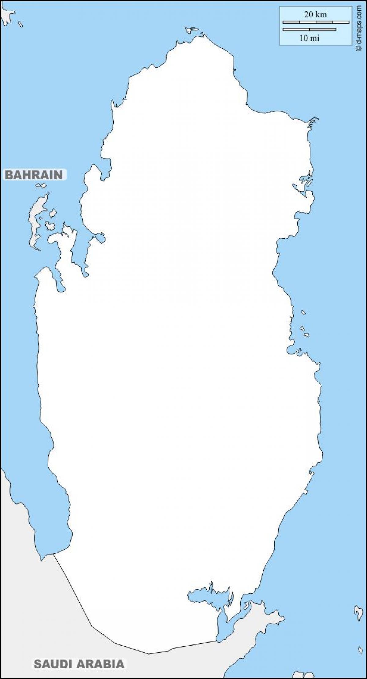 قطر خريطة مخطط خريطة قطر مخطط غرب آسيا آسيا